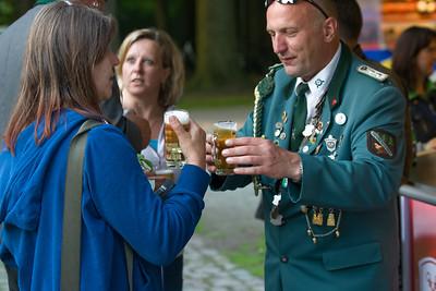 Juni 2014: Bernd auf Besuch in Barrien