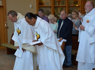 Installation of Fr. Huffstetter