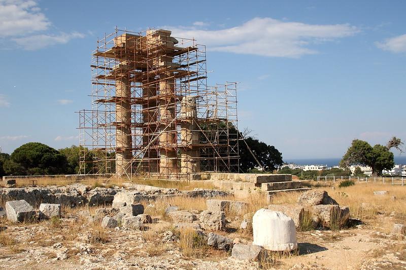 Acropolis of Rhodes.