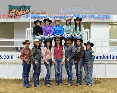 2013 MF Barrel Racing