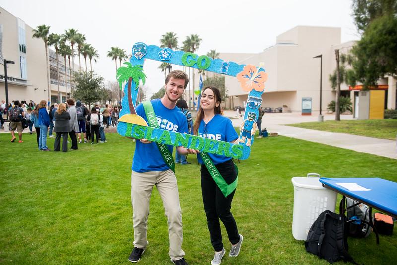 Garrett Swenson (left), and Sofia Rodriguez