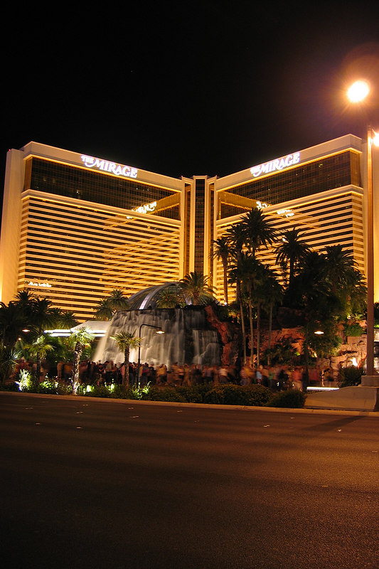 The Mirage - we walked by it several times but never went inside - maybe next time