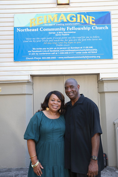 Pastors George & Mary Home ... again 090521