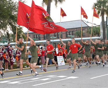 USMC - Motivational Run - Parris Island, So. Carolina -   9/21/2017