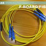 SKU: F-BOARD/FIBRE/D, Fibre Data Cable, One Cable Two Cords Four Terminals for Dual Printhead