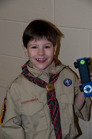 January 30, 2010 - Pinewood Derby