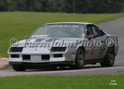 9/24/06 WHRRI Road Racing Events