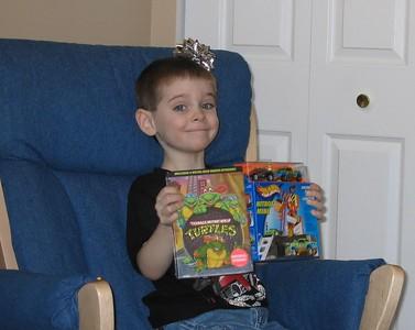 Jaycob's 4th Birthday - January 16, 2005
