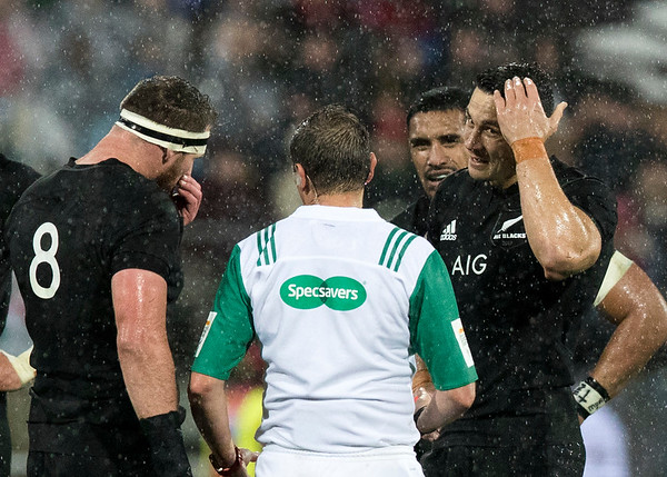 Sonny Bill Williams  about to get red carded during game 9 of the British and Irish Lions 2017 Tour of New Zealand, the second Test match between  The All Blacks and British and Irish Lions, Westpac Stadium, Wellington, Saturday 1st July 2017 (Photo by Kevin Booth Steve Haag Sports)  Images for social media must have consent from Steve Haag