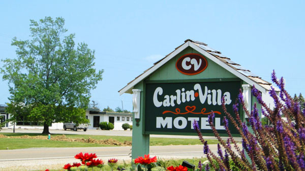 The Carlin Villa Motel in Carlinville
