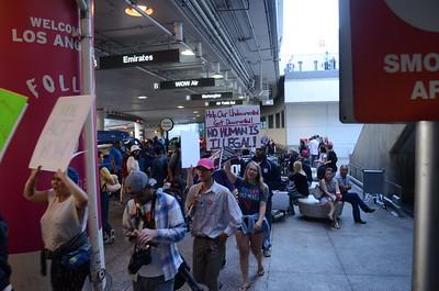 World Refugee Day Rally - LAX