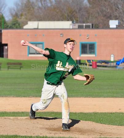 20110428 St. Mary's Jr. Varsity Baseball