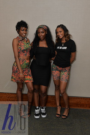 2018 BE IN LUFF Fashion show at the Northwest Activities Center