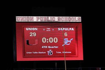 Union JV White vs. Sapulpa