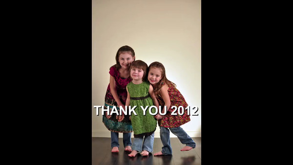 Thank You 2012