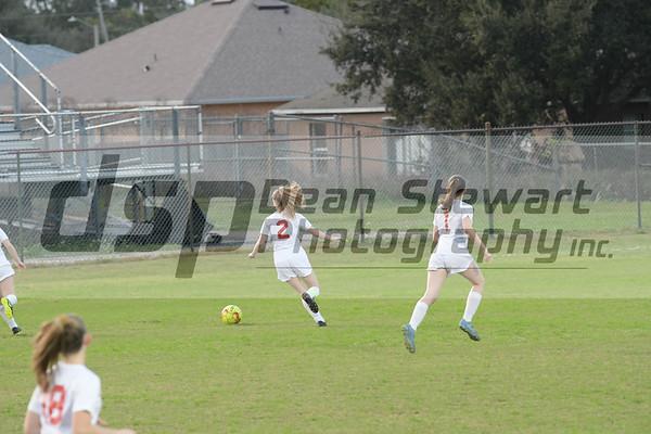 Satellite Beach HS JV Girls Soccer 1-14-20