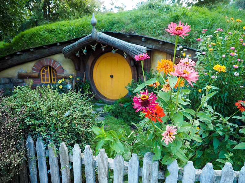 Hobbiton in the evening