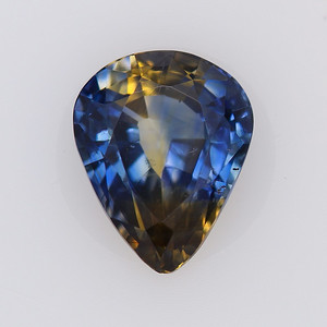 1.81ct Madagascar Sapphire Pear, heated GIA (s1378)