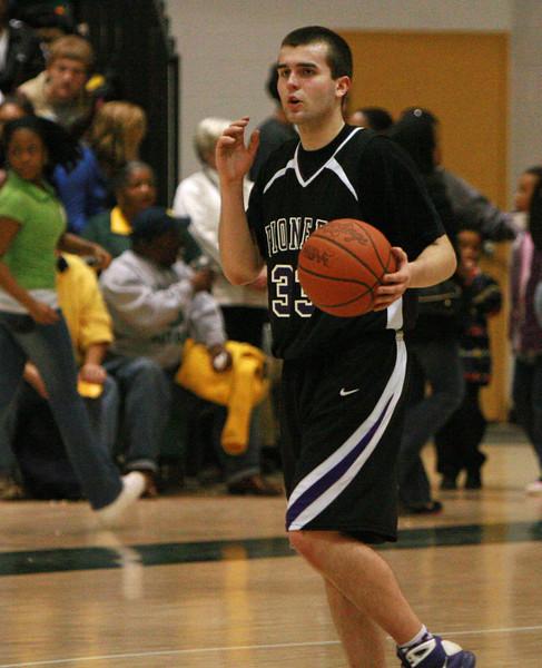 Pioneer at Huron basketball 2009