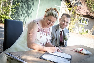 Huwelijk Stefan & Chantal
