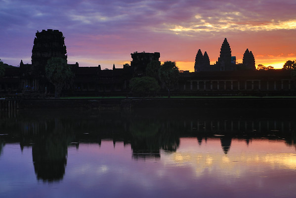 Around Angkor Wat/Thom Cambodia