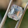 3.10ct Vintage Emerald Cut Diamond, GIA H VS1 4