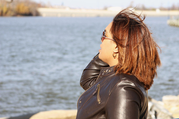 Janel at the Harbor