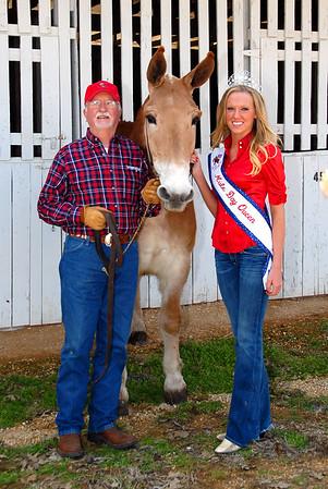 2008 Mule Day Queen & Court