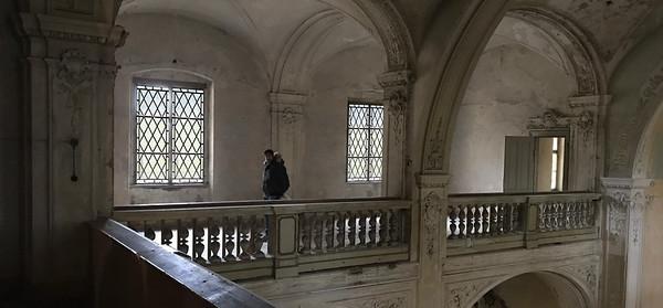 Monastery Corridor - location and props