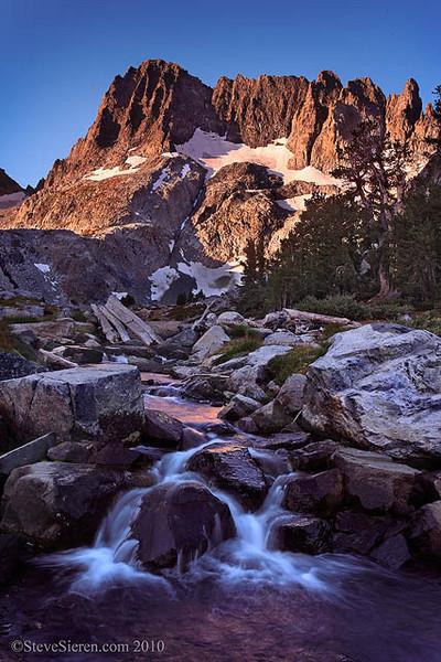 Minarets Ansel Adams Wilderness Eastern Sierra Nevada, California Iceberg Creek