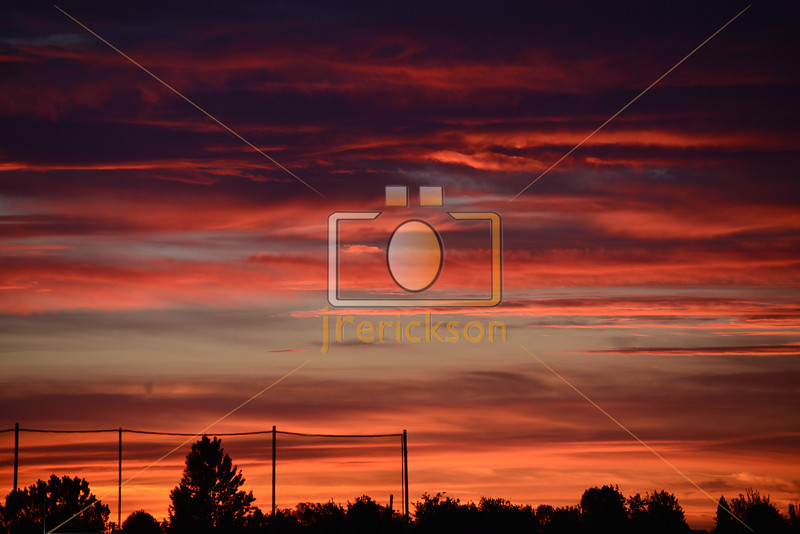 SW Boise Sunset 5-14-2013