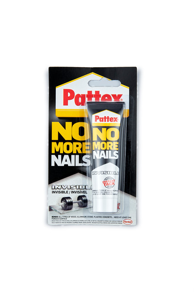 Gelmar Pattex No More Nails 40g, Invisible