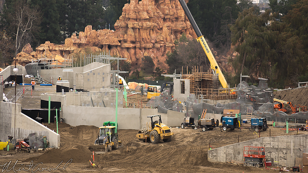 Disneyland Resort, Disneyland, Mickey And Friends Parking Structure, Mickey, Friends, Parking, Structure, Star Wars Land, Star Wars, Frontierland, Critter Country, Rivers Of America, Rivers, River, America, Construction