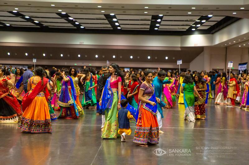 © SIVA DHANASEKARAN | SILICON PHOTOGRAPHY | SILICONPHOTOGRAPHY.COM | 2019 | Phone / Text: (408) 579-9135 | Email: siva@siliconphotography.com | SANKARA EYE FOUNDATION | GIFT OF VISION | DANDIA | Santa Clara Convention Center