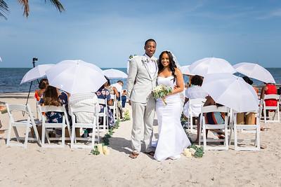 Dykari & Jyneara Morrison wedding
