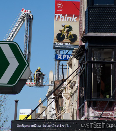 Fire - Building, Oxford St Darlinghurst NSW