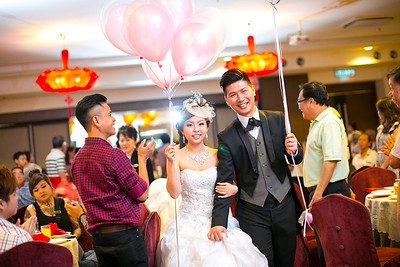 Jasmin + Kenny Chuah Reception