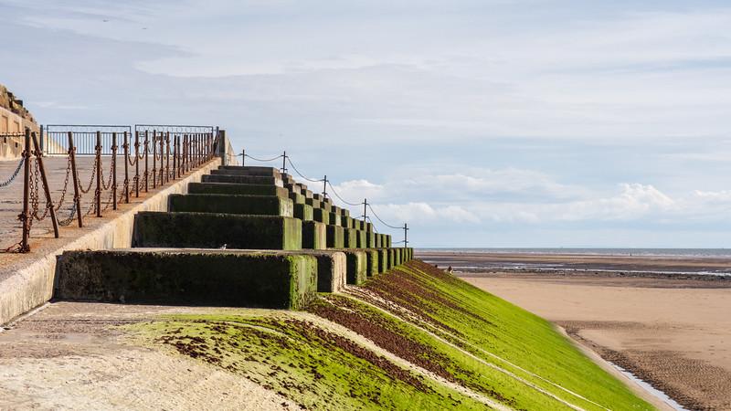 Blackpool sea wall