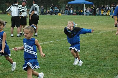 Shelby Lions Football Club - 2005 Flag Cheer Squad