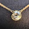 1.02ct Antique Heart Diamond Bezel Pendant 3
