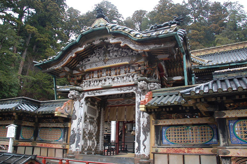 Karamon Gate at Toshogu shrine