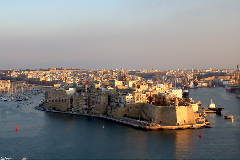 Valletta, Malta.   Senglea   03/24/2019
