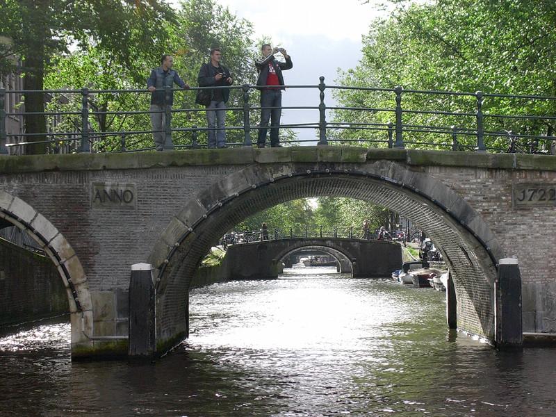 Leidsegracht sett fra Herengracht (Foto: Ståle)