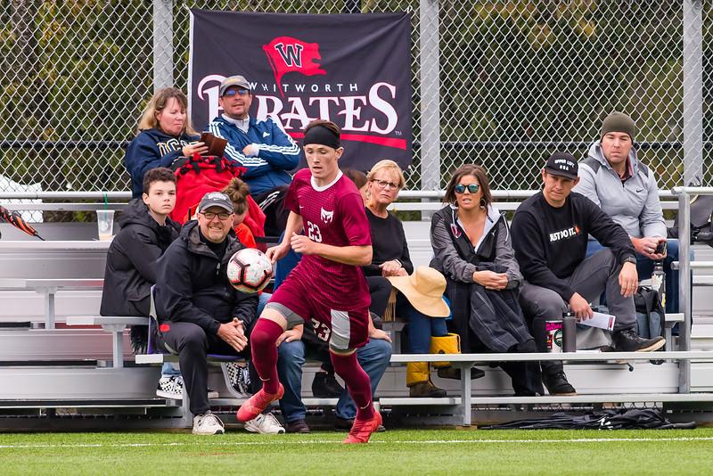 Men's Soccer: Willamette Bearcats vs Whitworth Pirates