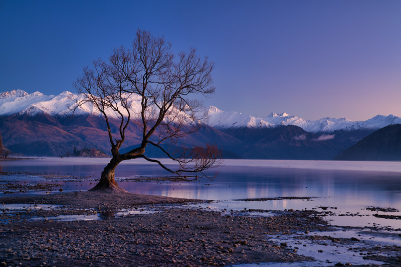 Dawn at Lake Wanaka