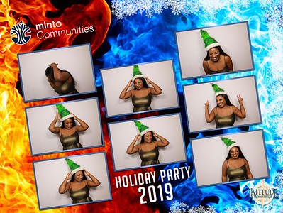 Minto Holiday Party 2019 - The Photo Shoot
