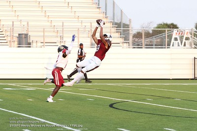 210910 Weiss Wolves vs Rouse Raiders