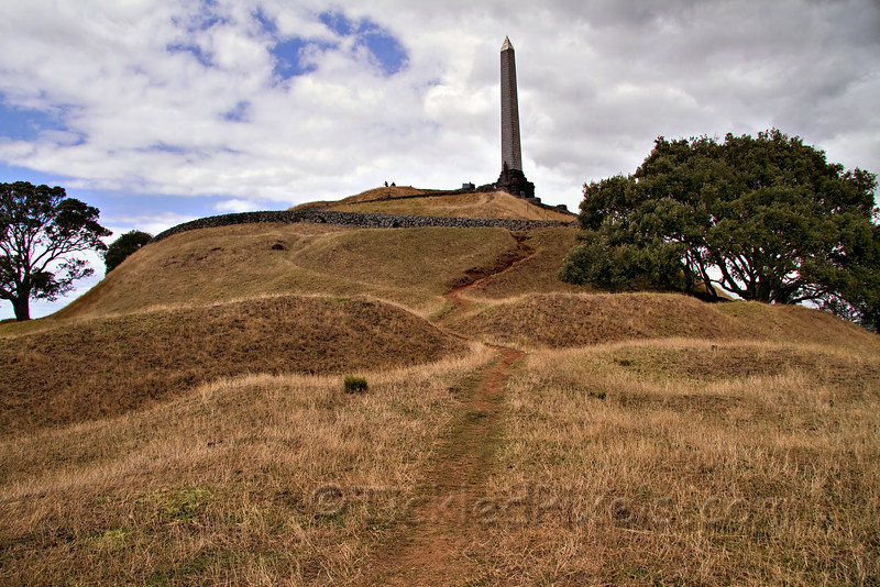 The Obelisk Atop One Tree Hill