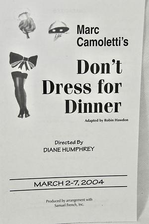 3-2-2004 Don't Dress for Dinner @ Joplin Little Theatre