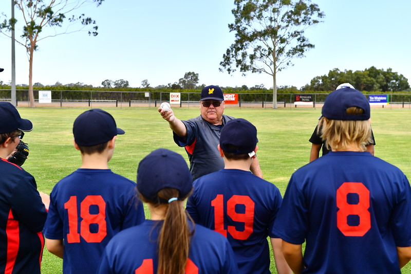 Junior training with Adelaide coaches